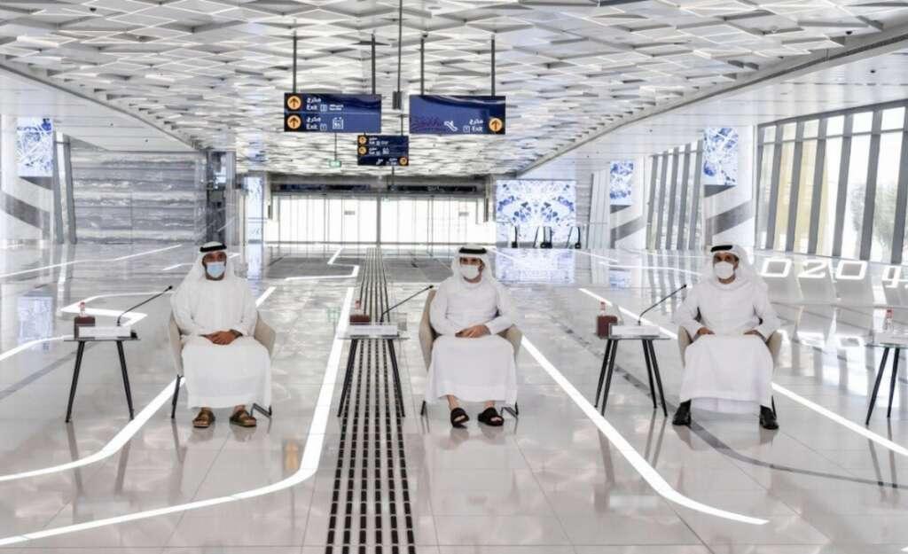 Photos, Dubai Metro, marks, birthday, Sheikh Hamdan, platform meeting