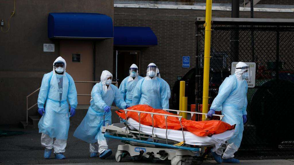 Covid-19: US records 1,150 coronavirus deaths in 24 hours: Johns ...