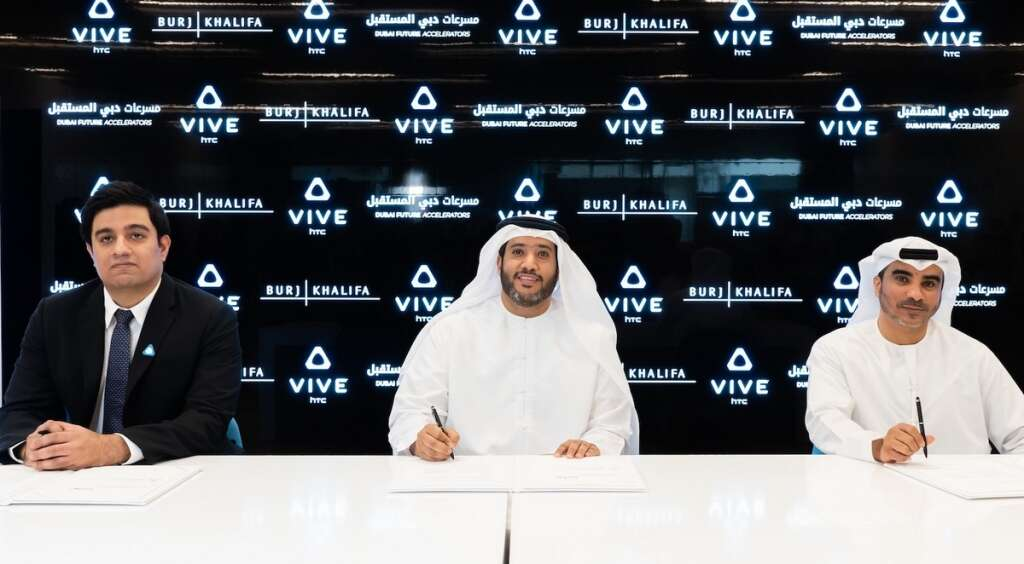Dubai is the converging point for VR