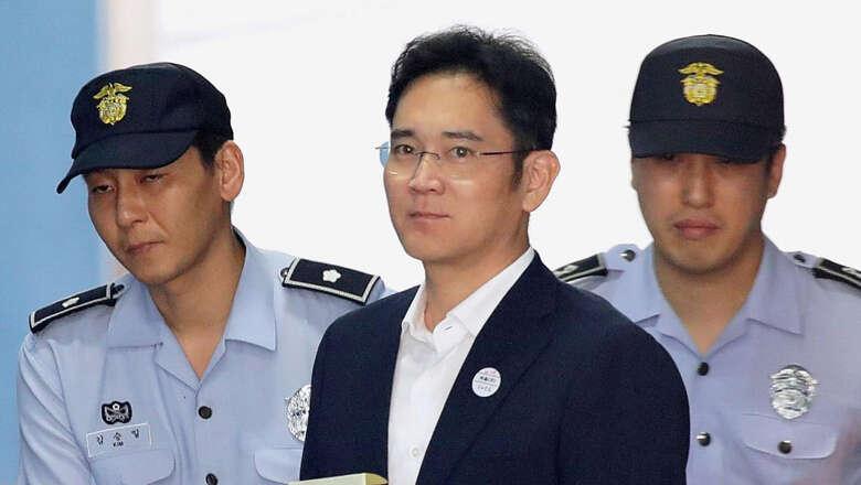Samsung heir sentenced to five years jail