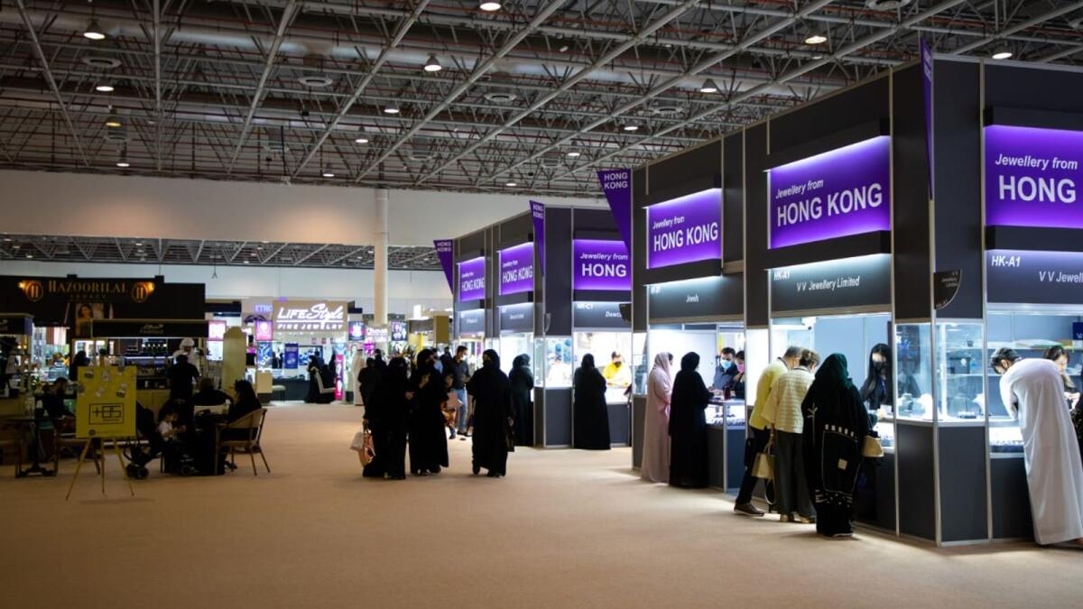 More than 350 exhibitors from the most prestigious local and international houses and brands took part in the event