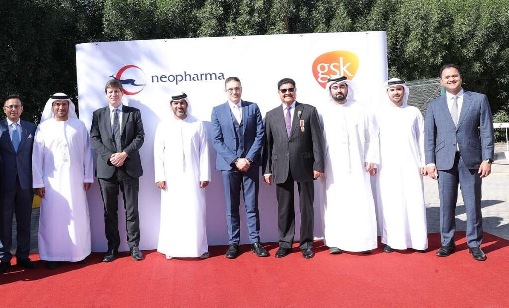 GSK and Neopharma produce first line of medicines packaged in the UAE