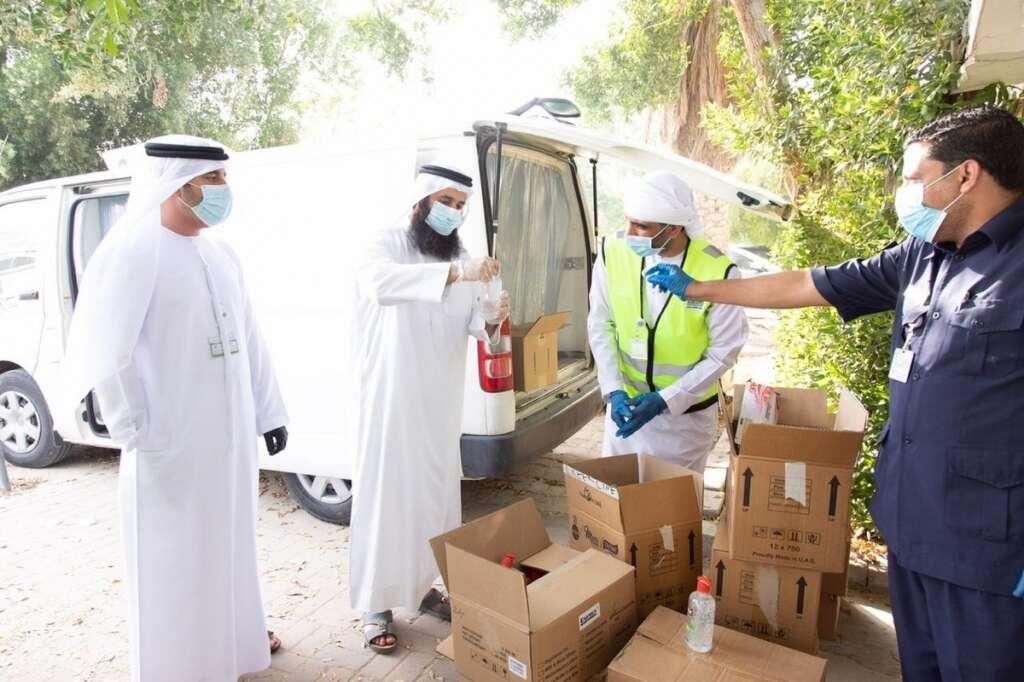 coronavirus, covid-19, fake, face mask, sanitisers, sanitizers, UAE, Sharjah, Khalid Falah Al Suwaidi, municipality, police
