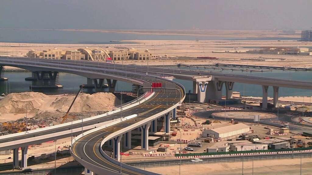 dubai, UAE, roads and transport authority, RTA, bridges, Deira Islands, roads, construction, infrastructure