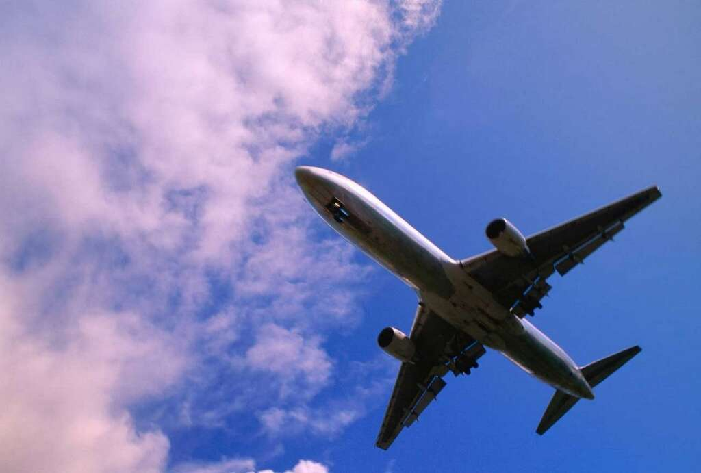 Man, dies, on board, flight, New Year's Day, holiday
