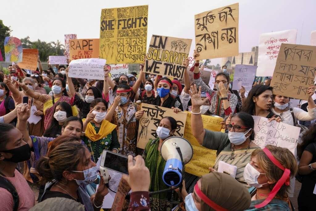 Bangladesh, Dhaka, rape, penalty, 889, cases