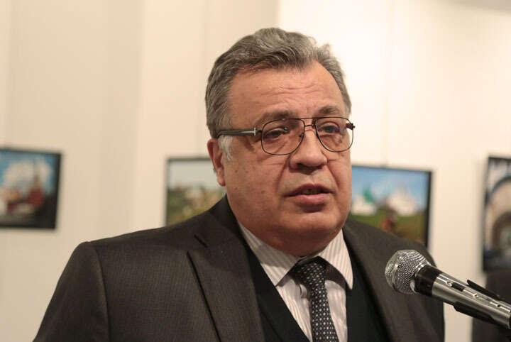 Watch: Russian ambassador shot dead in Ankara