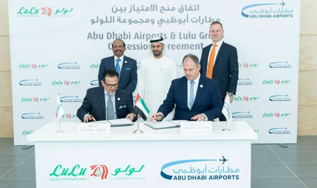 Abu Dhabi Airports awards spaces at Midfield Terminal to Lulu Group