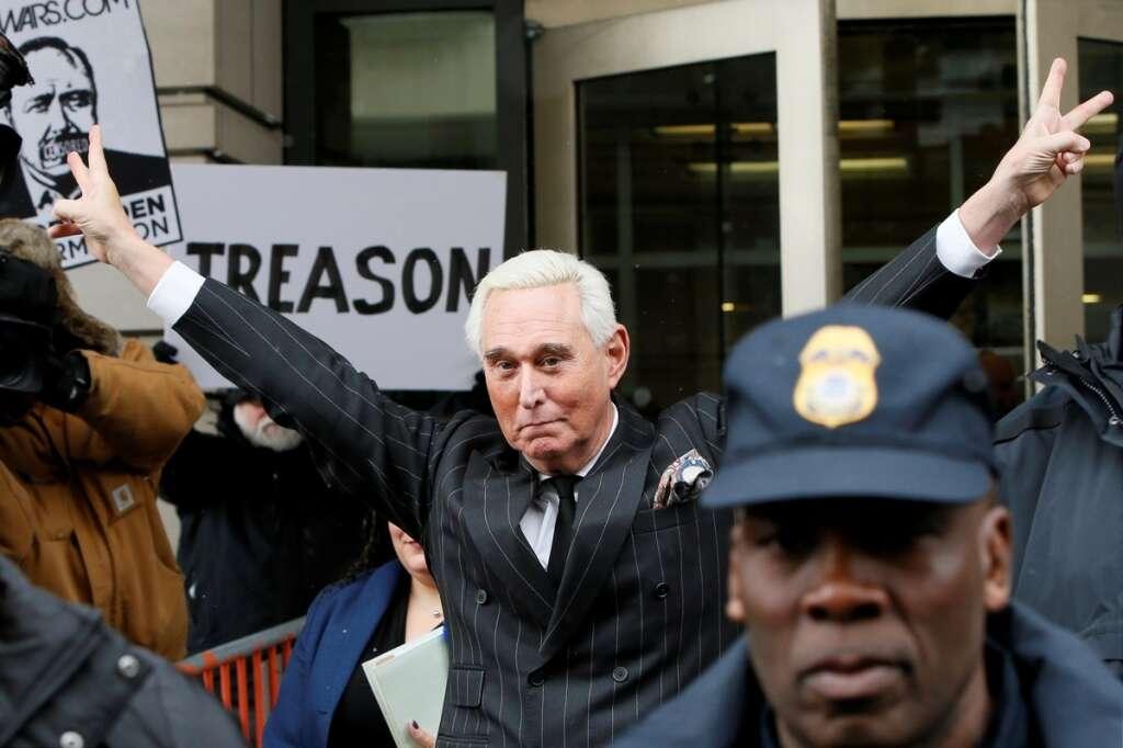 Donald Trump, commutes, prison sentence, Roger Stone
