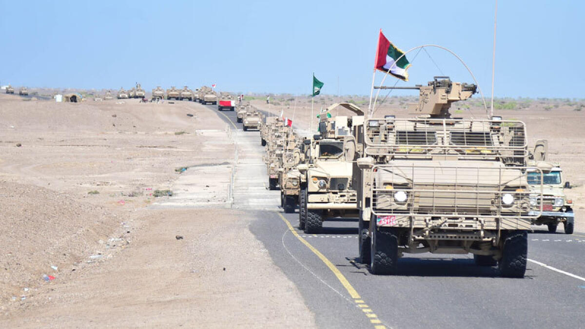 UAE troops rotation to boost Yemen mission