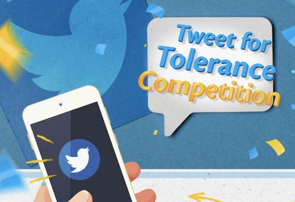 #TweetForTolerance, help, Arab youth, promote coexistence
