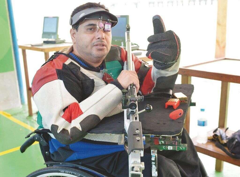 Al Aryani gives UAE silver at Paralympics
