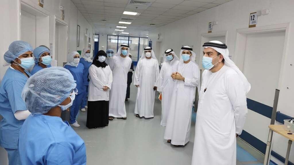 Dr Mohamed Salim Al Olama, Ministry of Health and Prevention, MoHAP, Ras Al Khaimah, hospital; coronavirus, Obaidullah Elderly Hospital