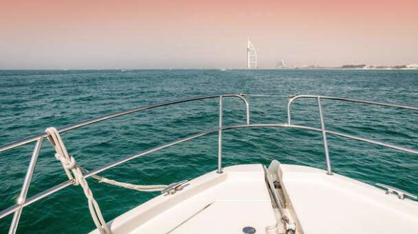 Yacht catches fire at Dubai Marina, firefighters put off the blaze