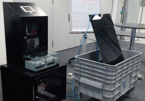 A fully-developed version of Najeeb's panel cleaning technology will be displayed at Expo 2020.