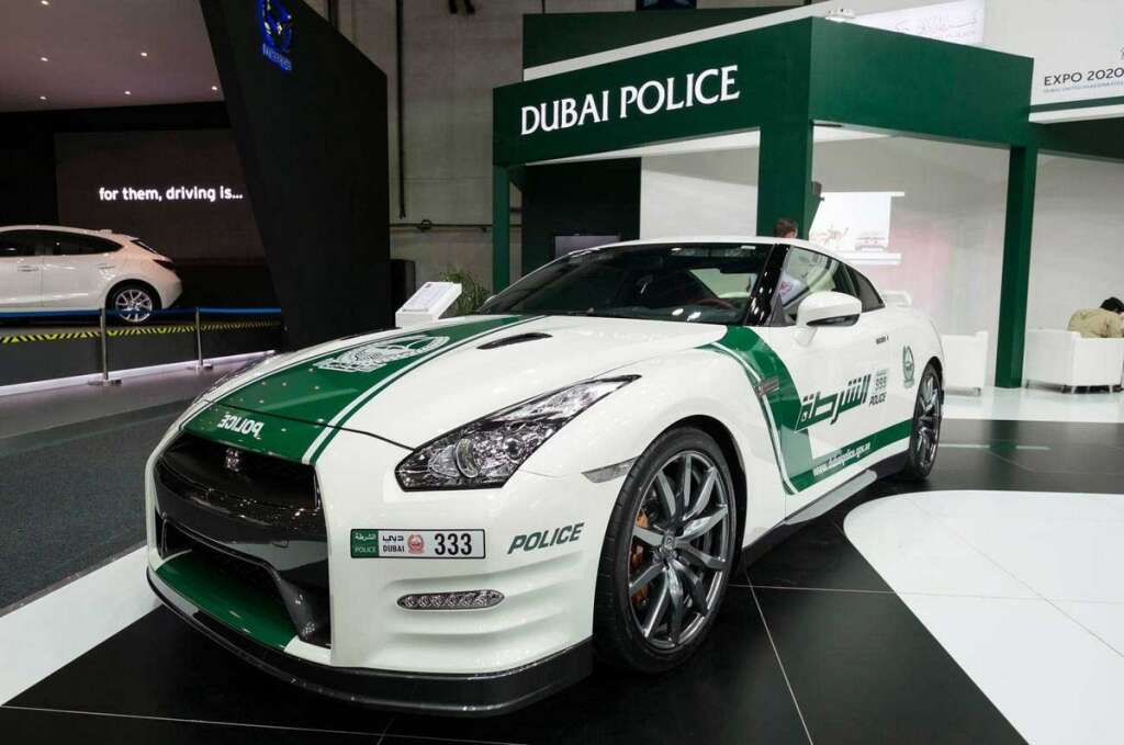 Dubai Police, unveils, first, 5G-enabled, police patrol,