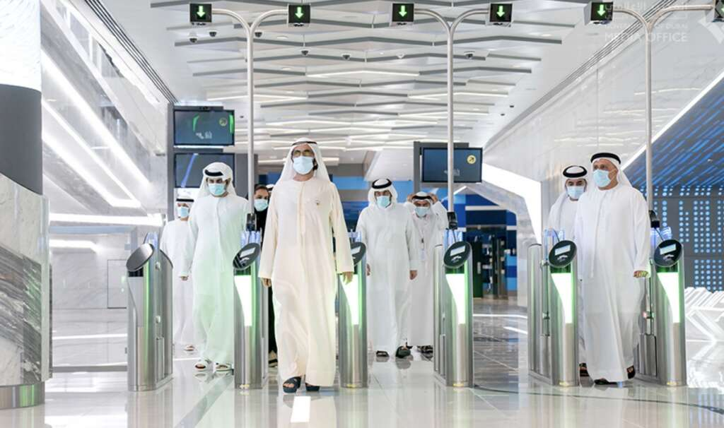 Photos, 50 new trains, 7 stations, Dubai, Route 2020, improved designs