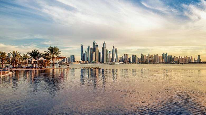uae, weather, national center of meteorology, cloudy, sunny, overall, hazy, at tines