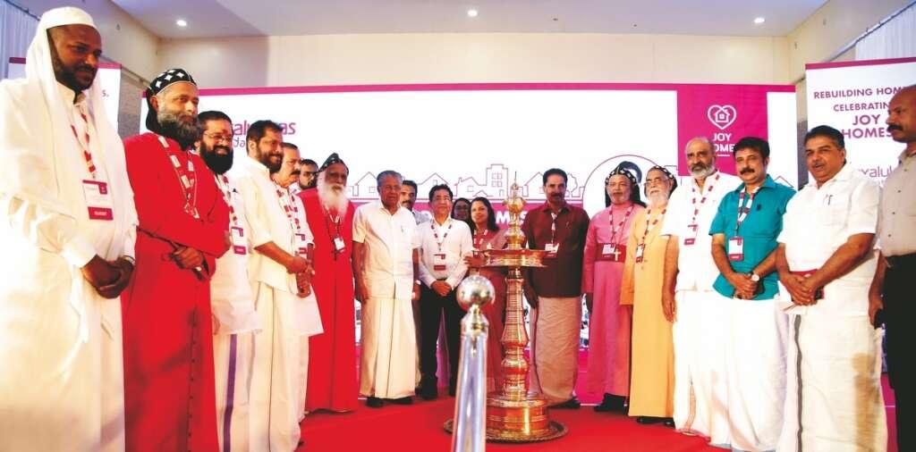 Joy Homes project reinforces Rebuild Kerala initiatives: Pinarayi Vijayan