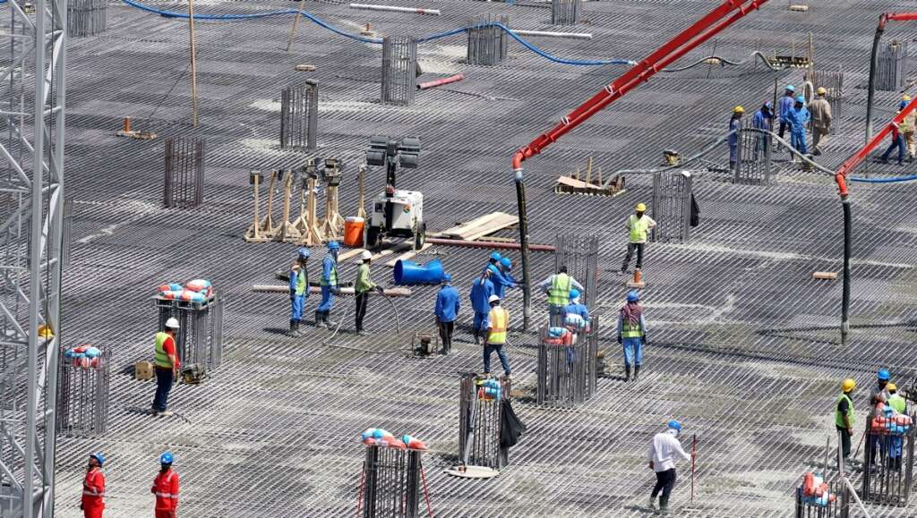 Sharjah sets record with 62-hour-long concreting process