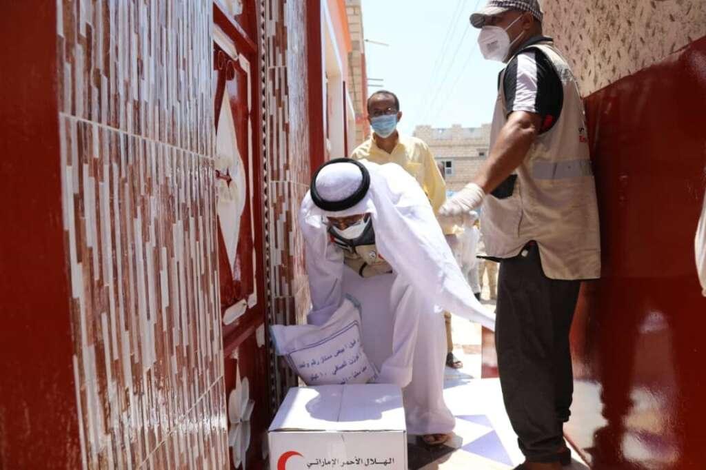 Emirates Red Crescent, Sheikh Mohamed bin Zayed Al Nahyan, Yemen, Hadramaut, Ramadan, food aid, coronavirus, Covid-19