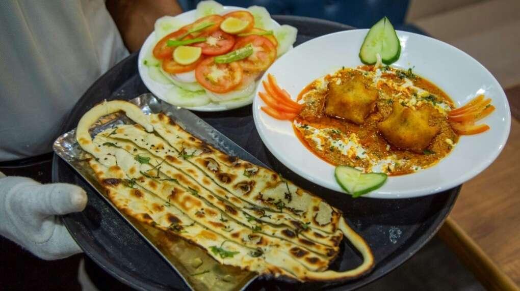 Indian, restaurant, special covid curry, Mask naanns, Vedic, Jodphur, coronavirus, Covid-19
