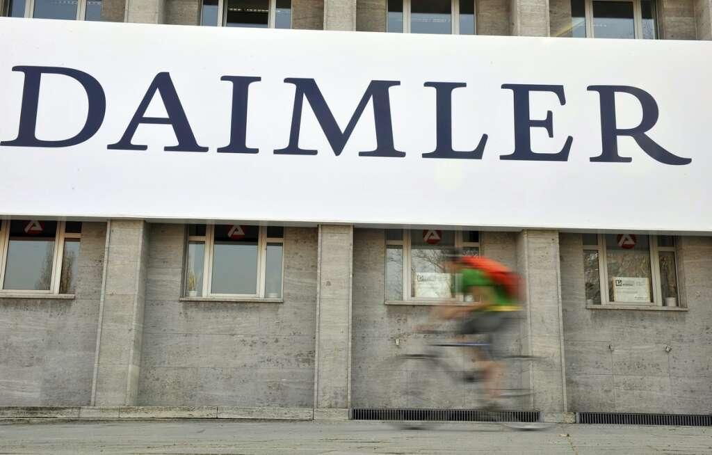 Germany, Daimler, cut, at least, 10,000, jobs, over 3 years, 1.4 billion euros