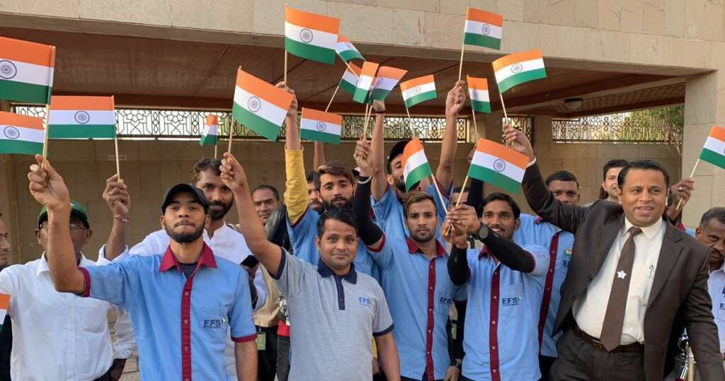 Pavan Kapoor, Indian ambassador to the UAE, Indias Republic Day