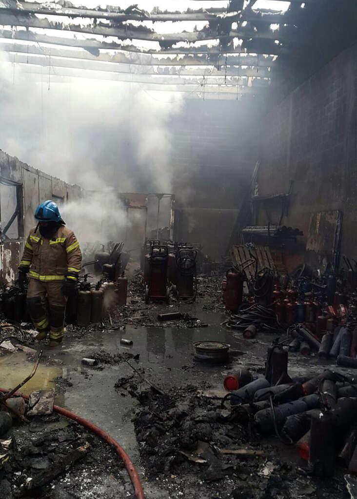 Seven Sharjah warehouses gutted in huge fire