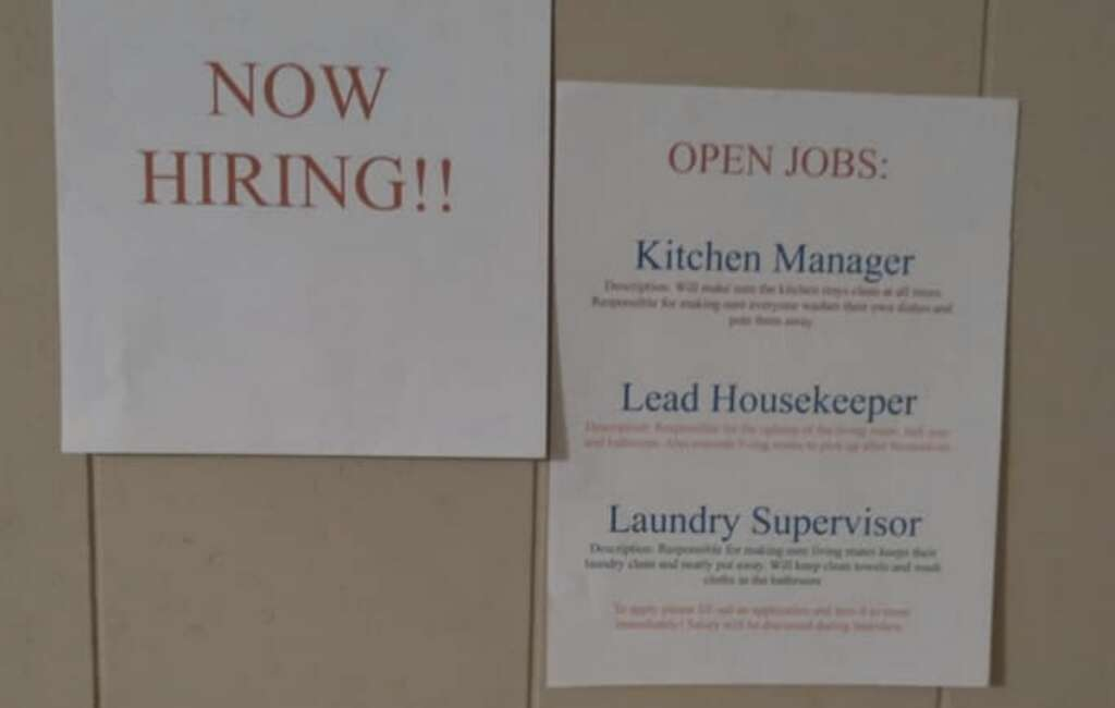 Now hiring, job listing, US jobs, UAE jobs