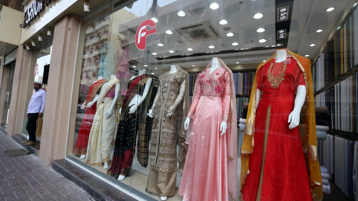 Shops are lined with exotic jewellery and textile stores that showcase embroideries with zari and brocades.Photo by Dhes Handumon