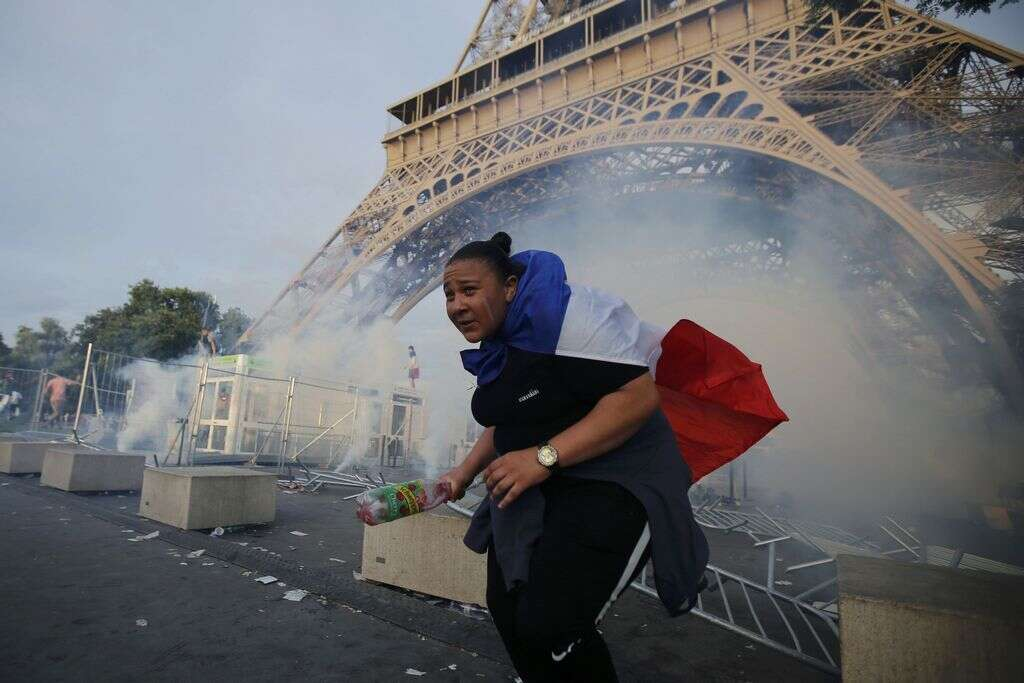 Eiffel Tower closed on Monday after Euro 2016 clashes