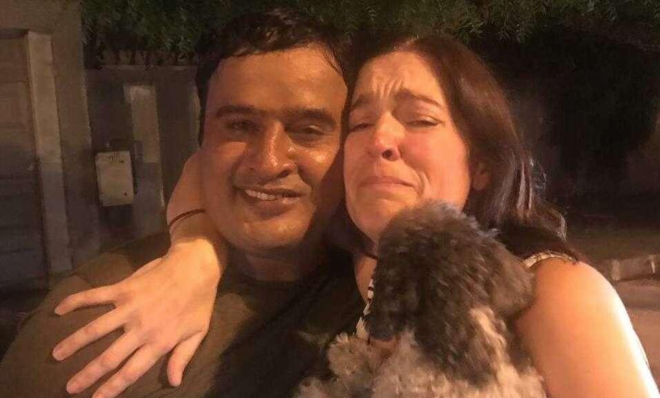 missing dog in UAE, Toy Poodle, Geneva, Pakistani expat finds dog