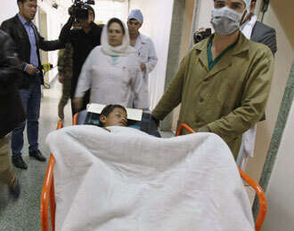 Afghan volleyball blast toll rises to 57, target was a police commander
