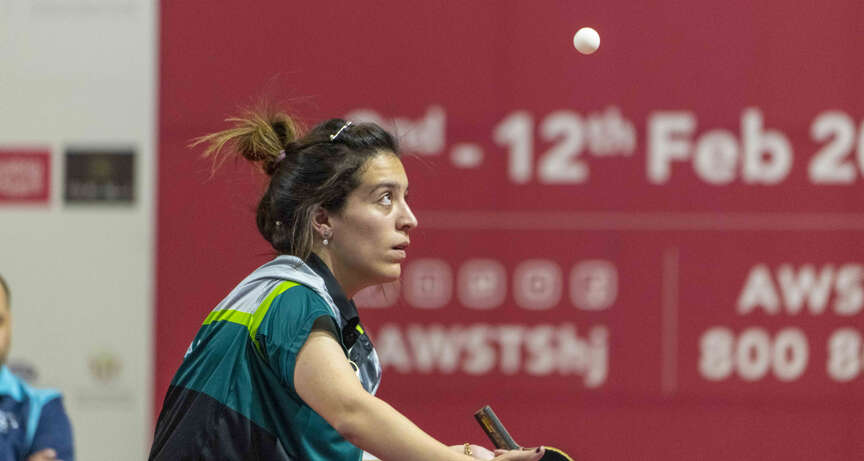 Algerias Kasasi clinches table tennis gold medal in Arab Women Sports Tournament