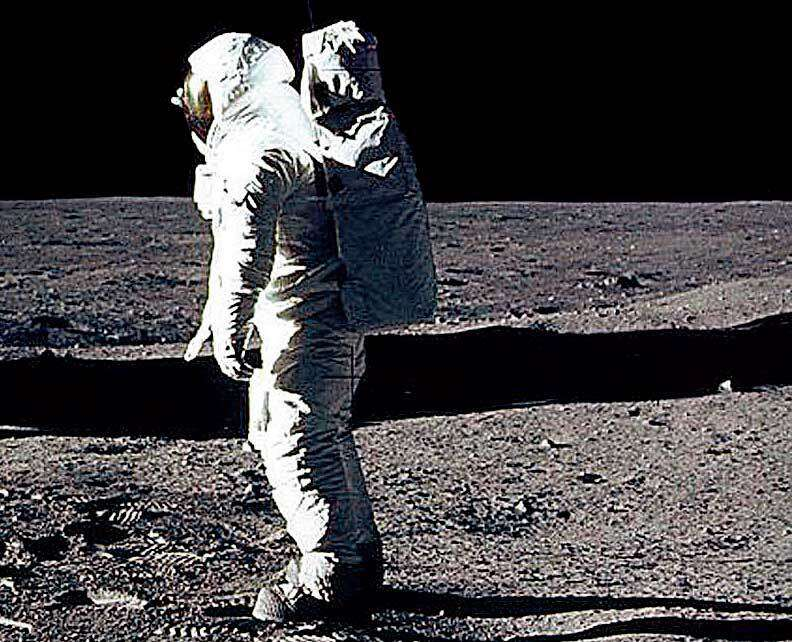 Dont Believe The First Moon Landing? Buzz off