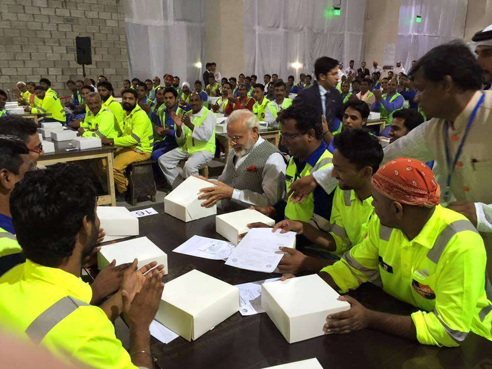 Modi assures all help to Indian workers in Gulf