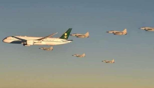 Video: Pakistan Air Force fighter jets escort Saudi Crown Prince