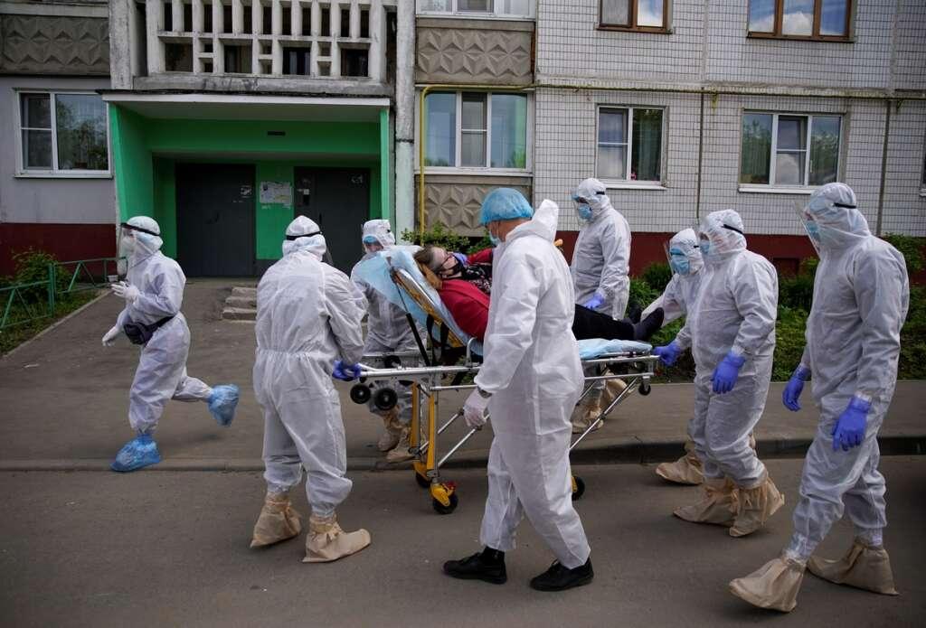 Death toll, spiked, Russia, Americas, coronavirus, Europe, lockdown, eased
