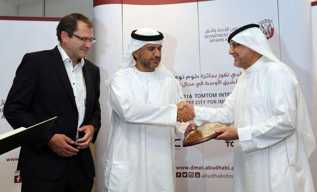 Abu Dhabi wins best city award for roads, traffic