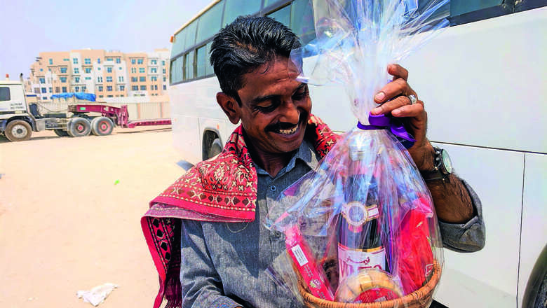 Give gift baskets to heroes this Ramadan