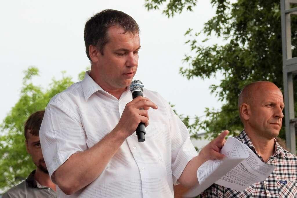 Belarus factory strike, jailing