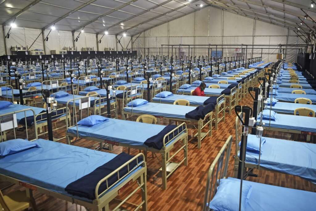 India, Mumbai, opens, new, coronavirus, Covid-19, field, hospitals