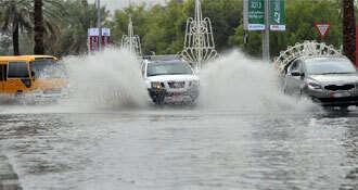 Heavy rain spell to continue until Saturday in UAE