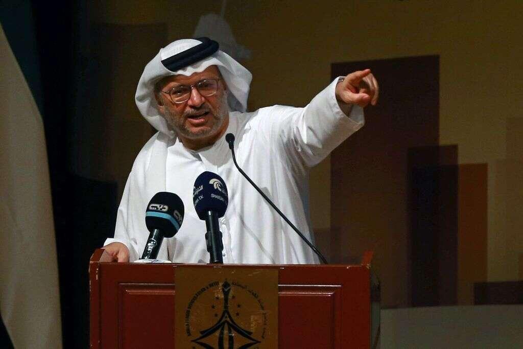 Political solution is only track for Yemen: Gargash