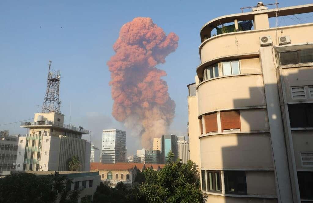 Beirut explosion, blast, UAE