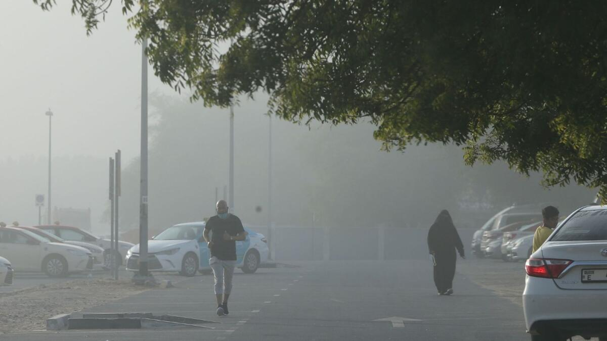 UAE weather: Humid, foggy forecast for coming days