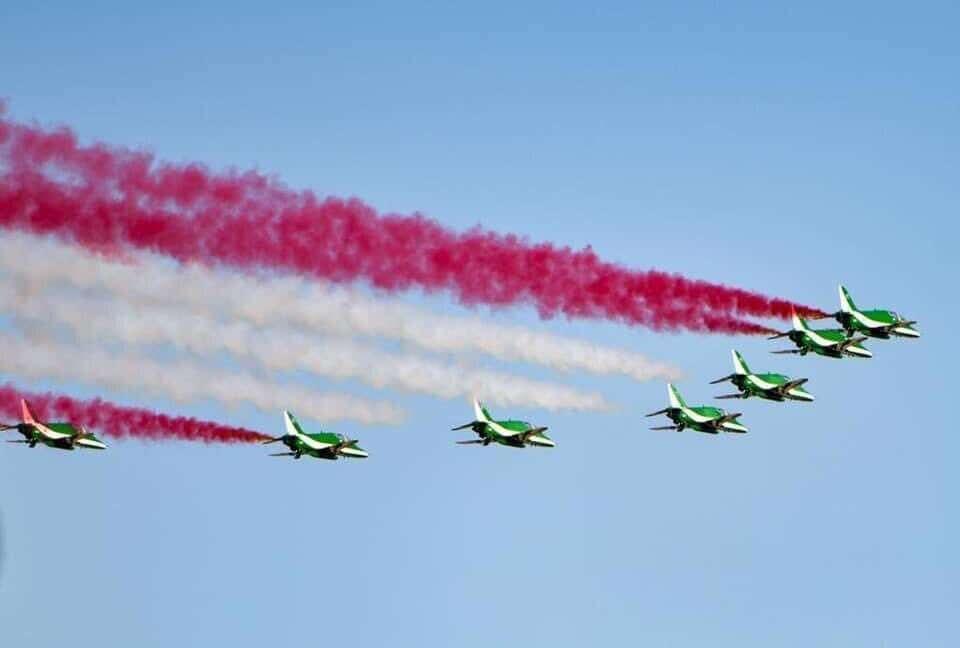 Saudi arabia, 90th national day, air show