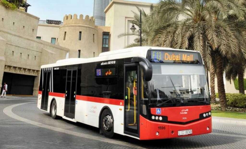 Dubai, RTA, new night bus,  bus service, transport, Public transport