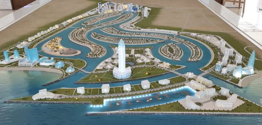 First look: Sharjahs Dh25 billion Waterfront City on track for 2019 completion